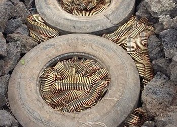 Small arms ammunition to be incinerated
