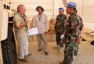 Cambodian training