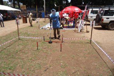Demining demo
