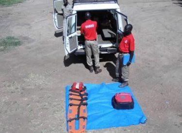 Medics on standby