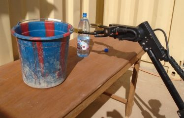 Water bottle manuvering
