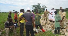 TDI Conducting MRE With Local Villagers