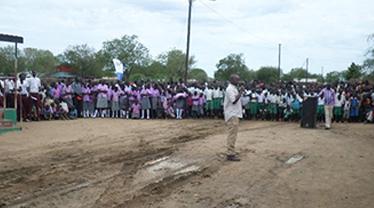TDI Speech in Kapoeta